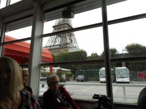 Our Conference Launch passes the most famous landmark of Paris.