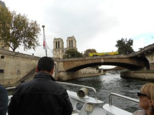 More views from the deck of the ship on the Seine River.